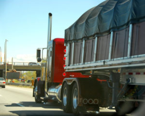 Truck on a highway - contact David Resnick & Associates truck accident attorneys