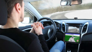Our New York car accident lawyers discuss what happens when a self-driving car causes an accident.