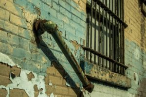 lead paint wall